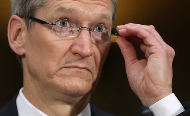 """מנכ""""ל אפל טים קוק (צילום: Chip Somodevilla, GettyImages IL)"""
