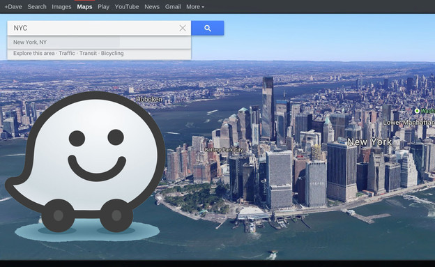 המפות של גוגל, וייז