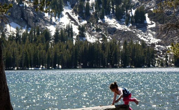 בתו של שי גל באגם (צילום: שי גל 2)