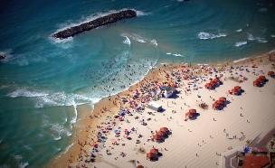 חוף דלילה (צילום: לאדי ישראל ודוברות עיריית אשקלון)