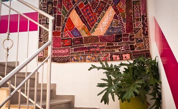 סטפני גריב בשיפוץ, מדרגות רוחב (צילום: יוראי ליברמן)