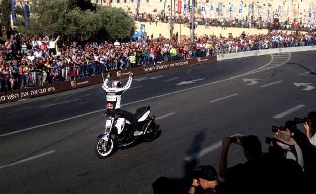 היסטוריה בבירה - הפורמולה 1 בירושלים (צילום: דני קושמרו, חדשות 2)