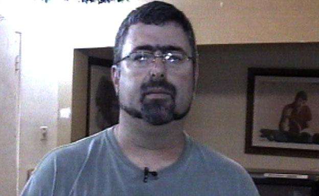 החשוד ה-4: מנהל הברנוער, שאול גנון (צילום: חדשות 2)