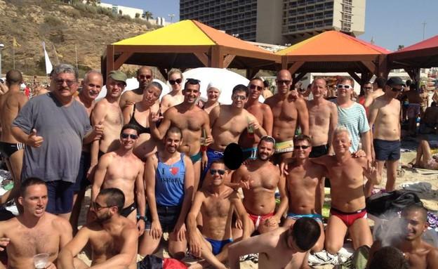 קבוצת הומואים חרשים (צילום: מקסים כהן)