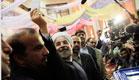חסן רוחאני בחירות באירן (צילום: חדשות 2)