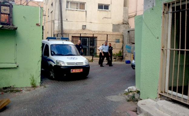זירת הרצח, היום (צילום: פוראת נאסר, חדשות 2)