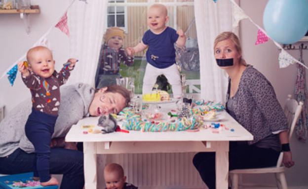 תינוקת שולטת - יום הולדת (צילום: אמיל נייסטרום, מתוך אתר מאתר emilmedia.se, צילום מסך)