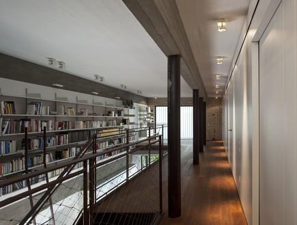 בית פיצו, ספרייה מבט