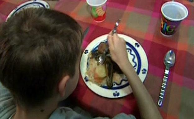 המוסד החינוכי יחוייב לספק ארוחה בחינם לתלמיד שלא י (צילום: חדשות 2)