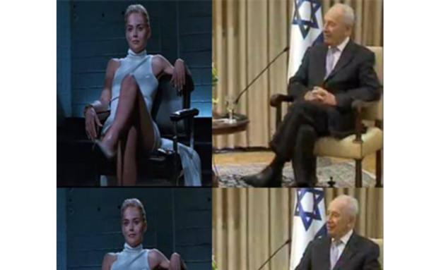 שמעון פרס בן 90, ממים (צילום:  Photo by Flash90)