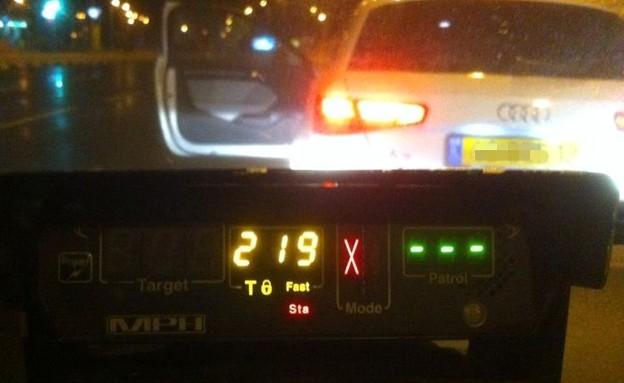 מכמונת מהירות (צילום: משטרת ישראל)