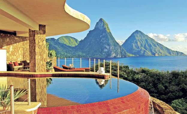 Anse Chastanet, הקריביים, נוף ממלונות (צילום: ansechastanet.com)