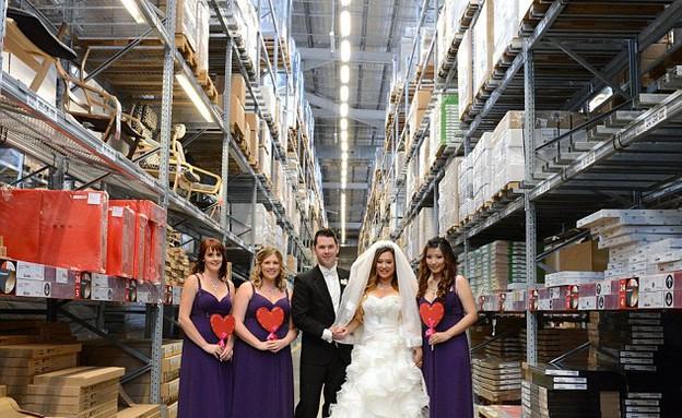 capitalbay.com חתונה באיקאה, אוסטרלי שושבינות