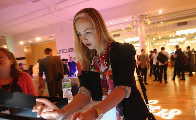אירוע גיוס סטארט אפים בניו יורק (צילום: Mario Tama, GettyImages IL)