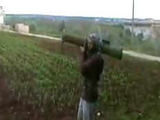 המורדים קיבלו נשק מתקדם מסעודיה. ארכיון (צילום: יוטיוב)