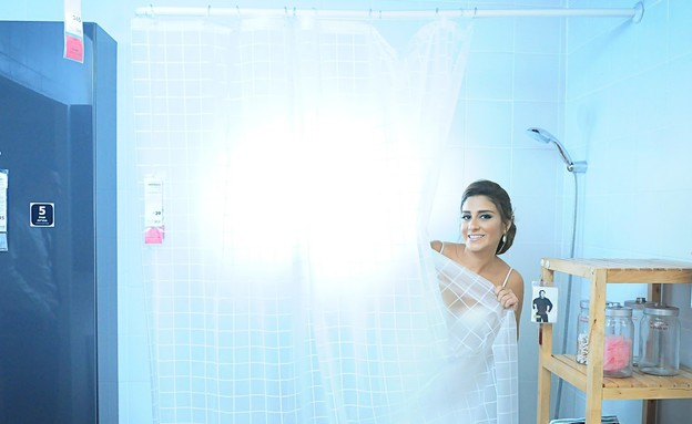 חתונה באיקאה, אמבטיה (צילום: טאצ' סטודיו)