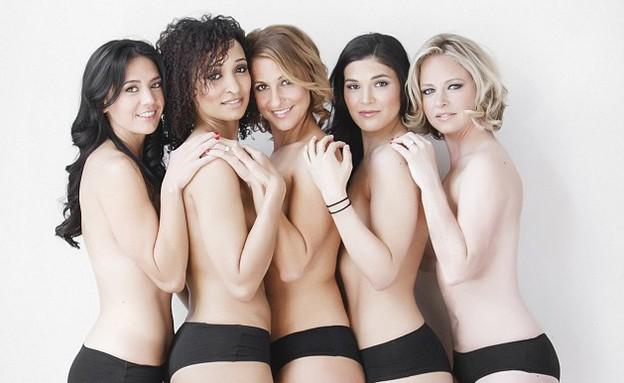 שושבינות סקסיות (צילום: dailymail.co.uk)