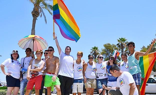 מצעד הגאווה הראשון באשדוד 2013 (צילום: בן סיילס)