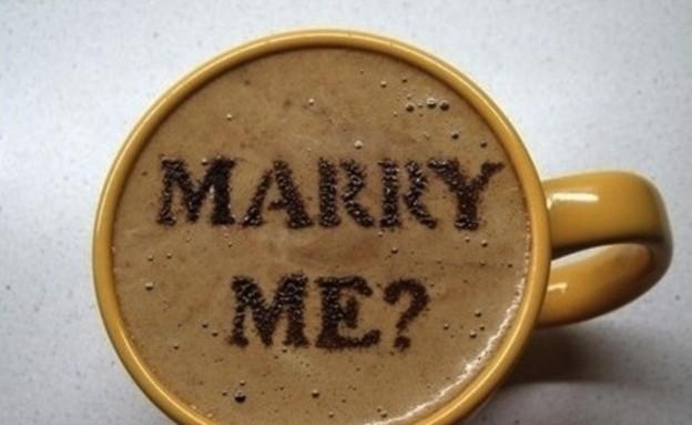 הצעות נישואין - קפה (צילום: מתוך:dognbird.tumblr.com)