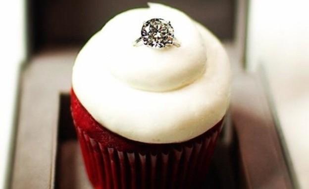 הצעות נישואין - קאפקייק (צילום: מתוך:eater.com)