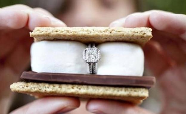 הצעות נישואין - ס'מורס (צילום: מתוך:skatellsspartanburg.wordpress.com)