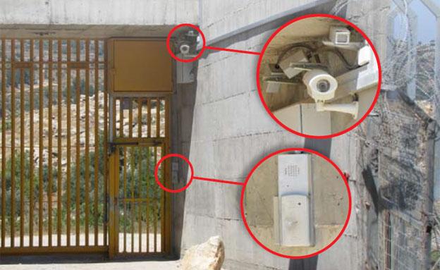 מזדהים מול המצלמות בכל כניסה לבית (צילום: מתוך דוח OCHA)