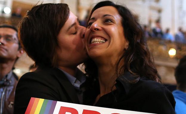 וושינגטון נישואים גאים (צילום: Justin Sullivan, GettyImages IL)