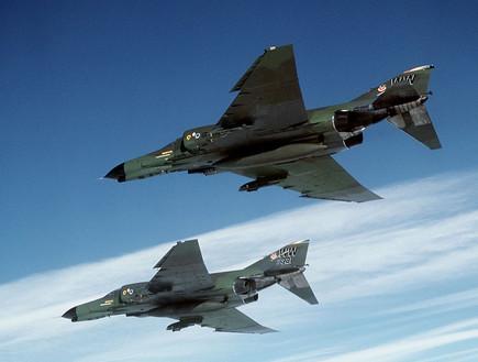 פנטום F4 (צילום: USAF, GettyImages IL)