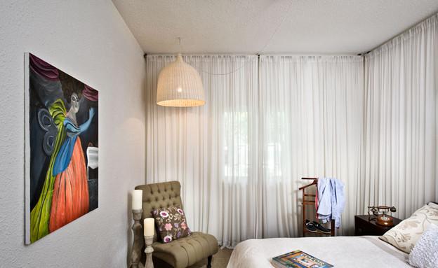 אלון חסון, חדר שינה (צילום: עודד סמדר)