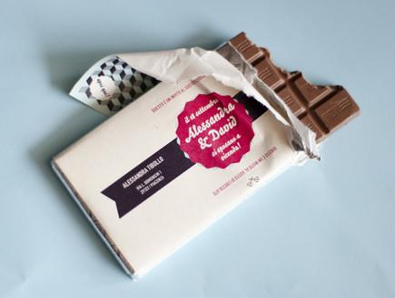 www.behance הזמנה, שוקולד