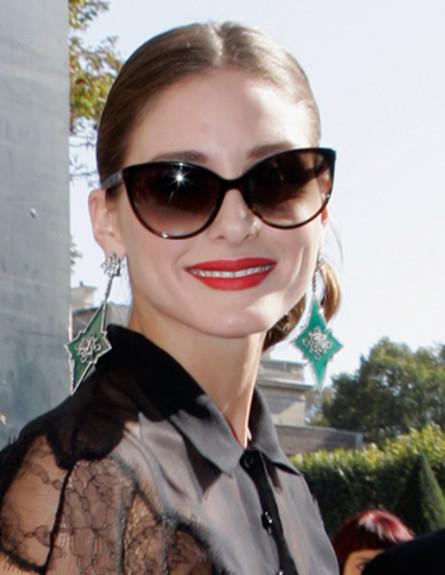 אוליביה פלרמו- משקפי שמש (צילום: dailymakeover.com)