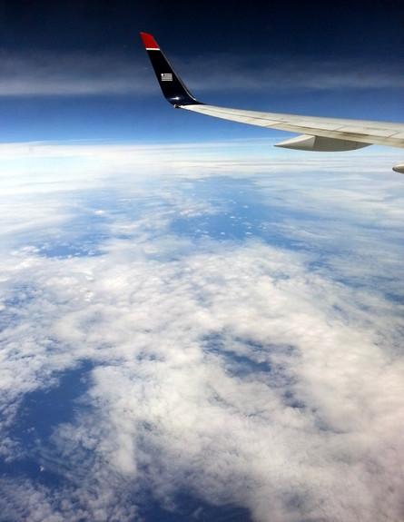 שי גל - טיסה בארהב (צילום: שי גל 2)