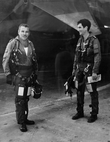 יעקב טרנר בחיל האוויר (צילום: אתר חיל האוויר)
