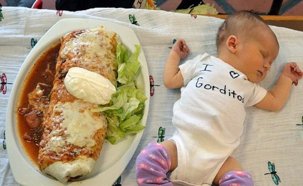 תינוקות בלאפה (צילום: dailymail.co.uk)