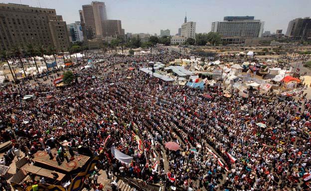 מצרים תחריר (צילום: חדשות 2)