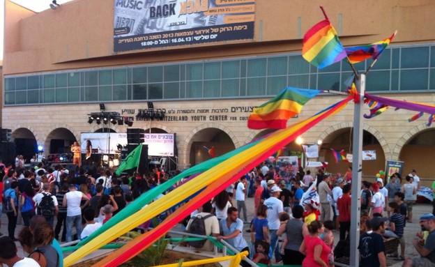 מצעד הגאווה בבאר שבע 1 (צילום: דודו שטיינר)