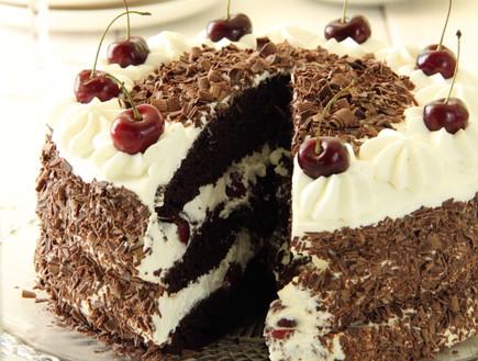 עוגת היער השחור (צילום: חן שוקרון, מתוקים שלי)