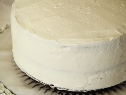 עוגת היער השחור - מכוסה בקצפת
