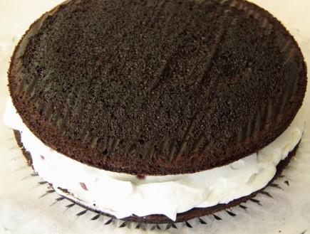 עוגת היער השחור - השכבה הראשונה
