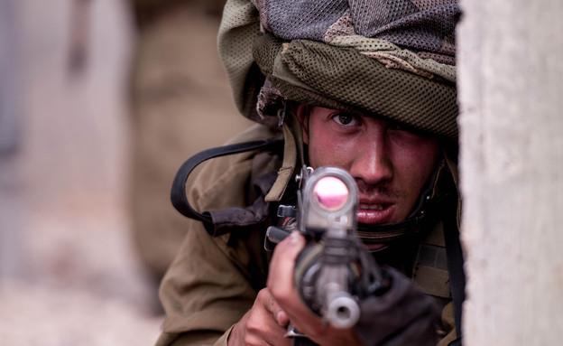"""שבוע מלחמה של חטיבת הצנחנים (צילום: דובר צה""""ל)"""