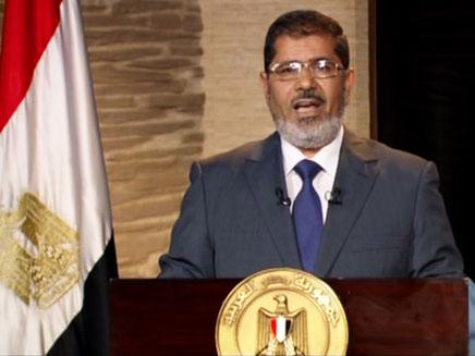 מוחמד מורסי  ,נשיא מצרים (צילום: חדשות 2)