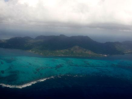 האי ראוניון באוקיינוס ההודי (צילום: רויטרס)