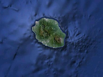 למשפחתו היה 10% משטחי האי (צילום: google maps)