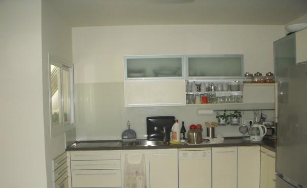 השבחת נכס, טלי ורקפת, לפני מטבח, צילום ביתי (צילום: צילום ביתי)