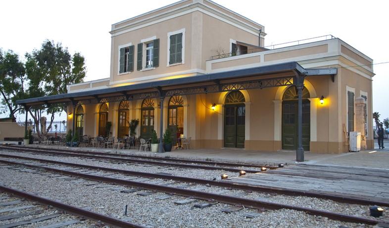 רכבת, מתחם התחנה פסים (צילום: עיריית תל-אביב-יפו)