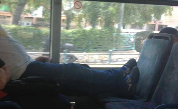 """מתוך עמוד הפייסבוק """"גברים באוטובוסים"""" (צילום:  Photo by Flash90)"""