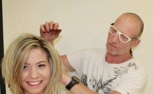 מייקאובר לשיער (צילום: אבי רחמים)