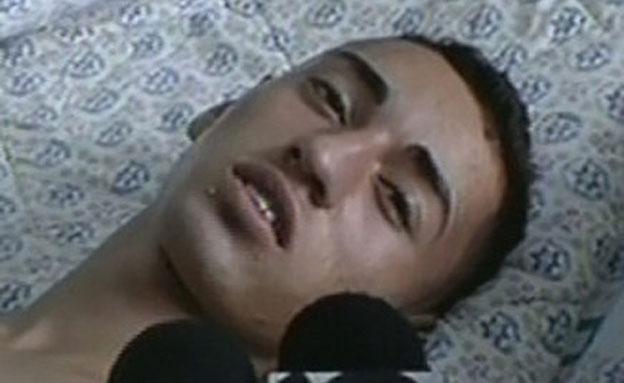 ג'מאל ג'ולאני, שנפצע בלינץ' (צילום: חדשות 2)