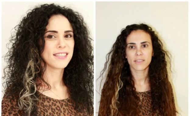 דנה וייס- מייקאובר לשיער (צילום: אבי רחמים/ רוני זיידל)