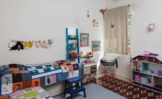 דירה בשוק, חדר ילדים (צילום: טל ניסים)
